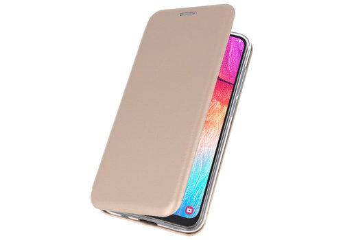 Slim Folio Case voor Samsung Galaxy A50 Goud