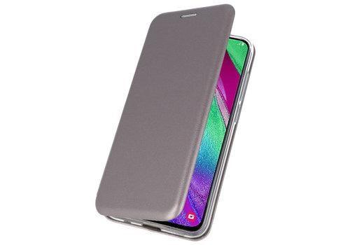 Slim Folio Case voor Samsung Galaxy A40 Grijs