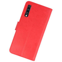 Bookstyle Wallet Cases Hoesje voor Samsung Galaxy A70 Rood