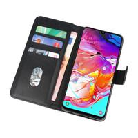 Bookstyle Wallet Cases Hoesje voor Samsung Galaxy A70 Zwart