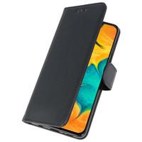 Bookstyle Wallet Cases Hoesje voor Samsung Galaxy A30 Zwart
