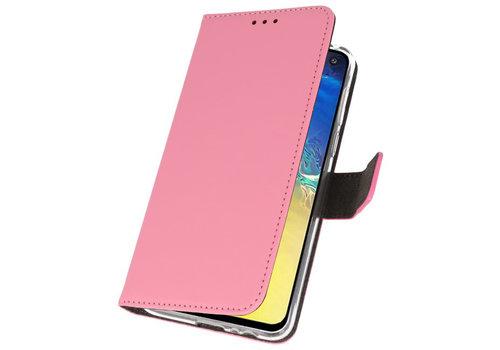 Wallet Cases Hoesje voor Samsung Galaxy S10e Roze