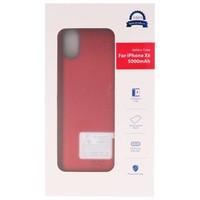 Battery Power Case voor iPhone XR 5000 mAh Audio Rood