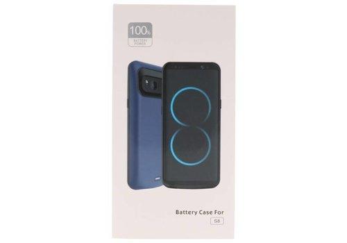 Battery Power Case voor Galaxy S8 5000 mAh Zwart
