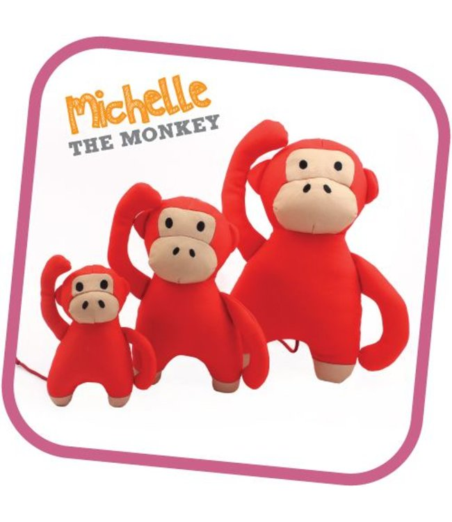 Beco Things UK - Hundespielzeug Michelle - The Monkey