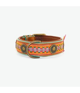 Dog with a Mission - Hippie Hundehalsband XL