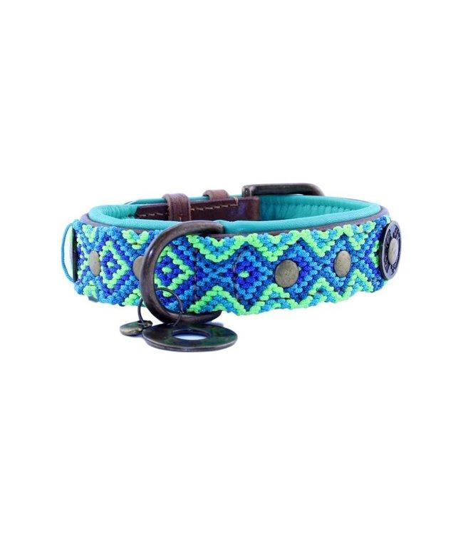 Dog with a Mission - Hippie Hundehalsband M / 2,5cm breit