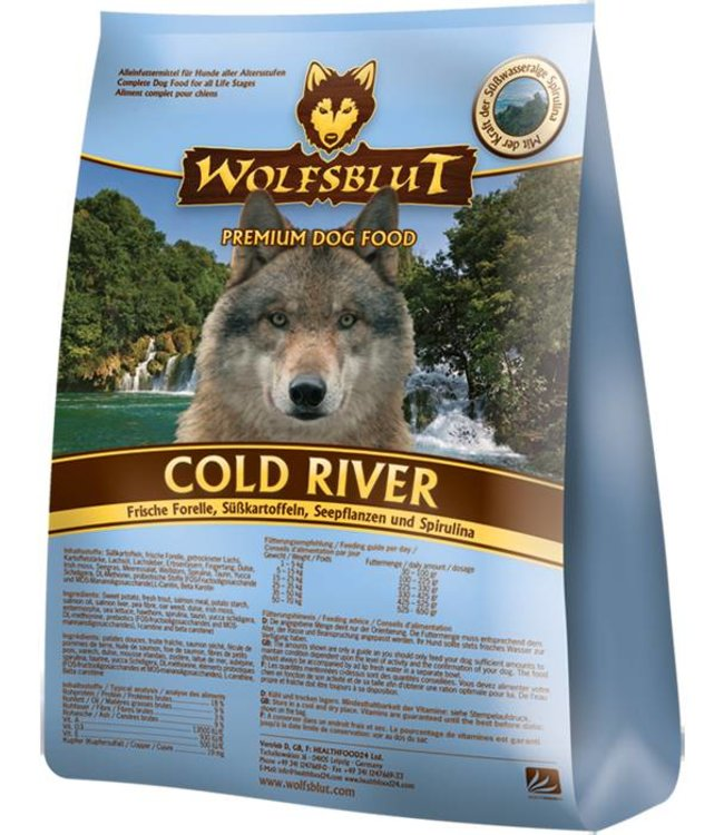 Wolfsblut - Cold River mit Forelle