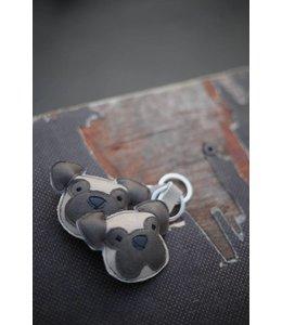 MioBully - Schlüsselanhänger Mops