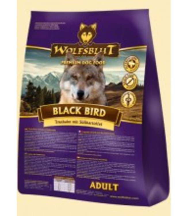 Wolfsblut - Black Bird mit Truthahn und Süßkartoffeln
