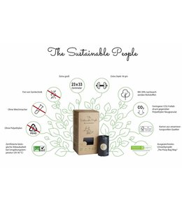 The Sustainable People - Hundekotbeutel - Biologisch abbaubar