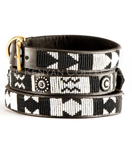 The Kenya Collection - Hundehalsband Ebony and Ivory