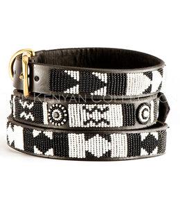 The Kenya Collection -  Hundehalsband Ebony and Ivory