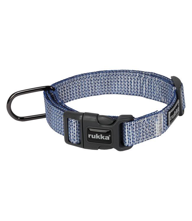 Rukka - Hundehalsband Misty in Navy und Rose