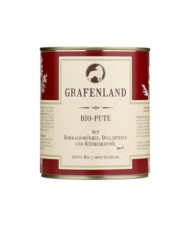 Grafenland - Bio-Pute mit Hokkaidokürbis, Dillspitzen und Kürbiskernöl - DE-ÖKO-006