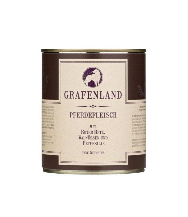 Grafenland - Pferdefleisch mit Roter Bete, Walnüssen und Petersilie - DE-ÖKO-006