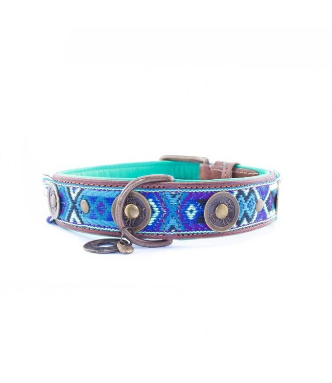 Dog with a Mission - Hippie Hundehalsband L
