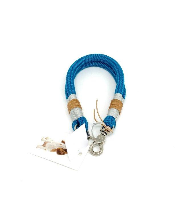 Flöckchens -  Hundehalsband Aqua Time