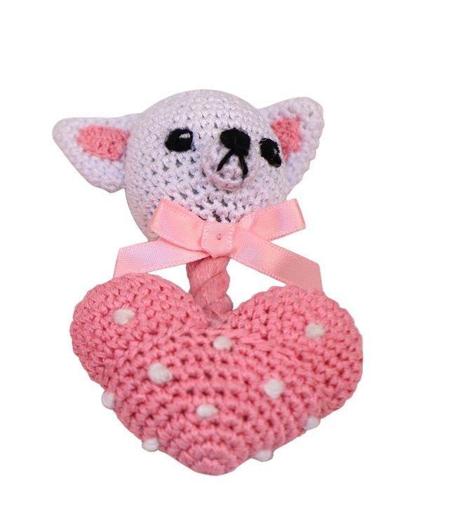 Bubimex -  Handgehäkeltes Spielzeug Kleine Maus