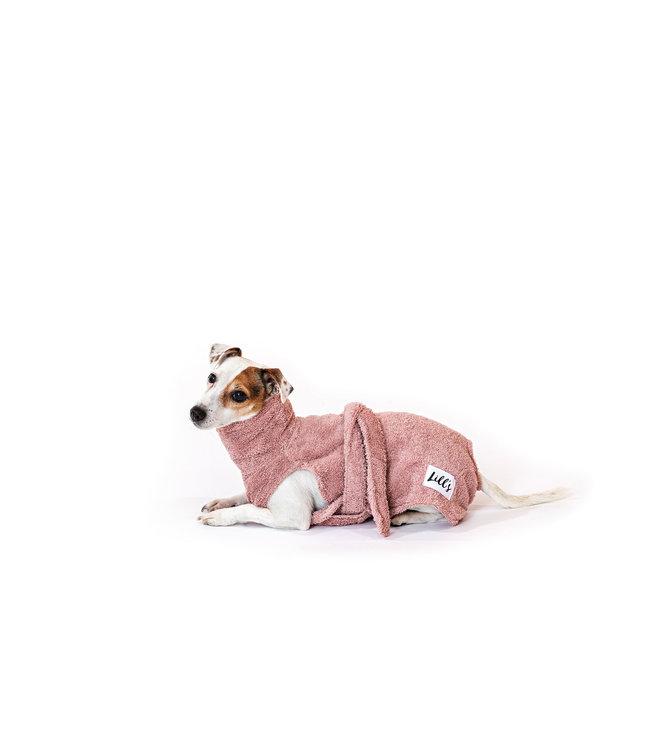 Lill's -  Hundebademantel Pink Berry