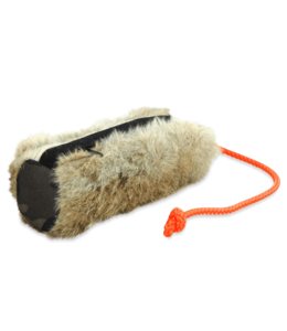 Romneys - Futterdummy mit Kaninchenfell