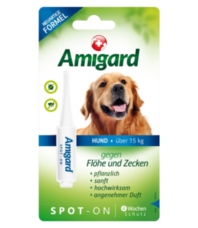 Amigard Spot-on Hund über 15 KG