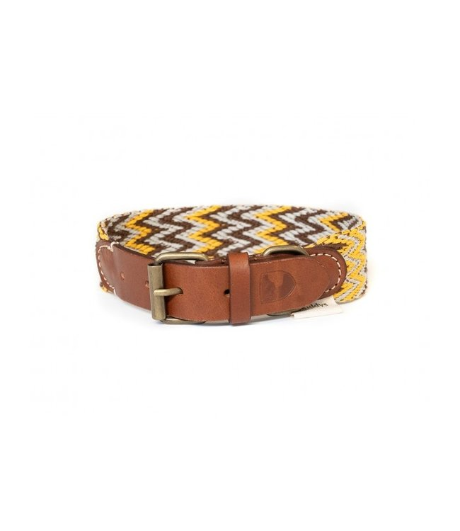 Buddys Dogwear - Hundehalsband Peruvian gold