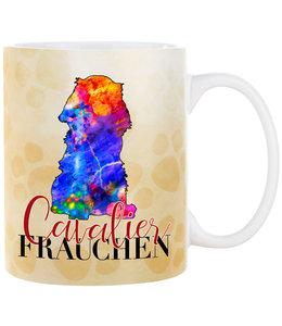 Cadouri -  Kaffeebecher Cavalier Frauchen