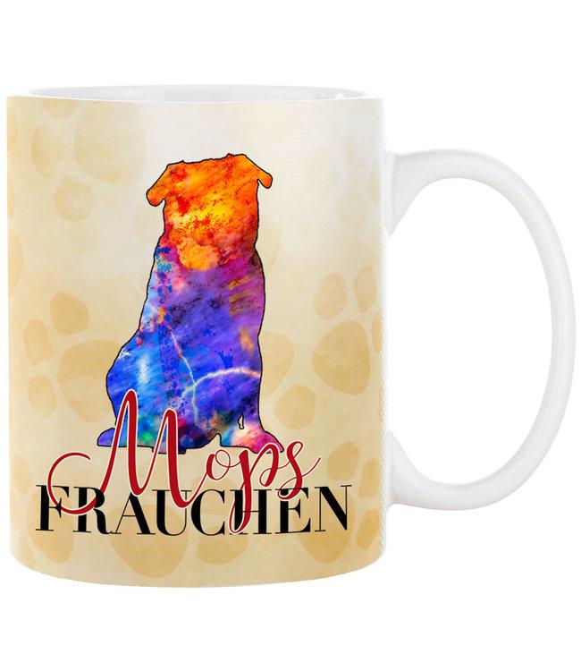 Cadouri -  Kaffeebecher Mops Frauchen