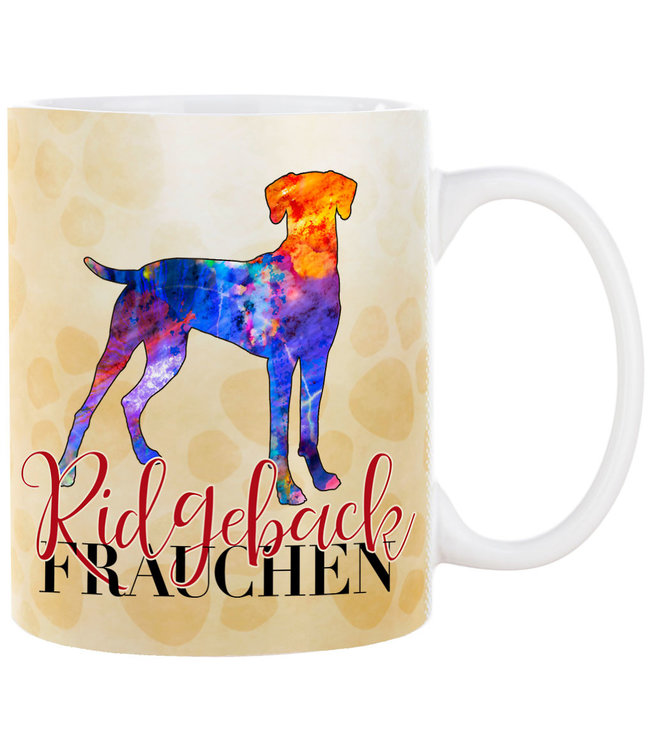 Cadouri -  Kaffeebecher Ridgeback Frauchen