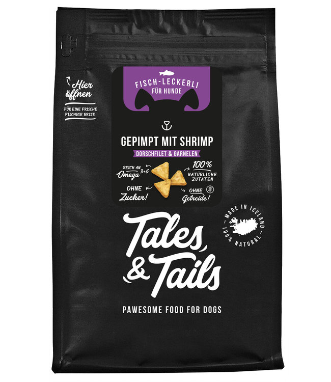 Tales & Tails - Gepimpt mit Shrimp Hundeleckerli