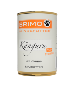 Brimo -  Känguru mit Kürbis