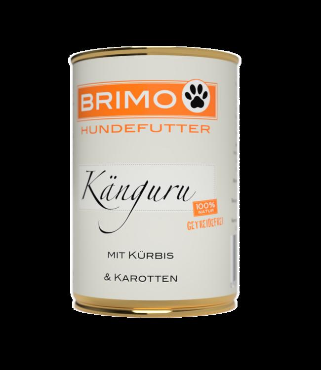 Brimo -  Känguru mit Kürbis - Nassfutter