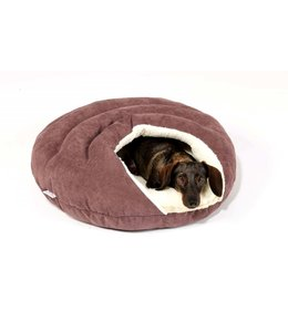 Dogs in the City - Hundebett Bubble mauve