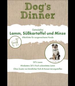 Dogs Dinner - Trockenfutter Lamm, Süßkartoffeln und Minze
