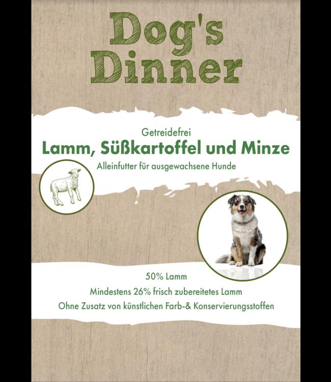 Dogs Dinner - Lamm, Süßkartoffeln und Minze