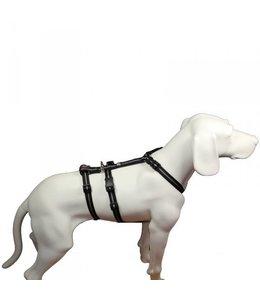 Hundegeschirr NoExit Streifen schwarz
