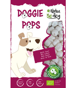 Alpha Bio Dog - Doggie Pops mit Leber