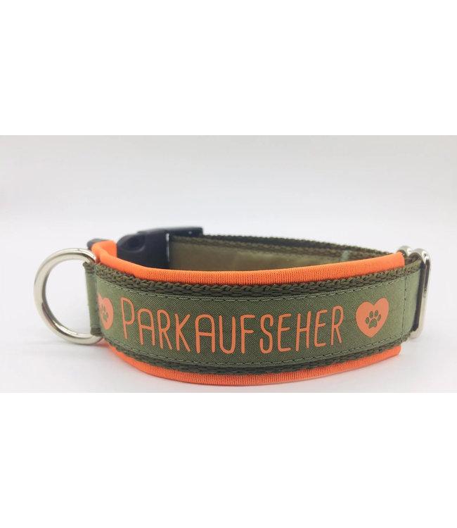 """Max im Glück - Hundehalsband """"Parkaufseher"""""""