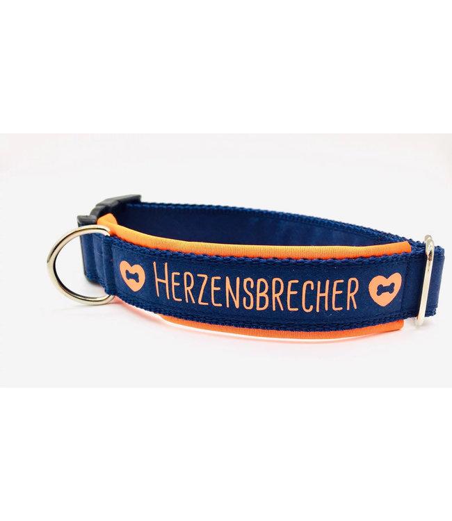"Max im Glück - Hundehalsband ""Herzensbrecher"""