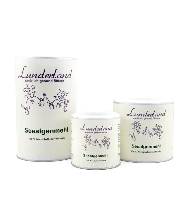 Lunderland - Seealgenmehl zur Jodversorgung