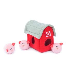 Zippy Paws -  Hundespielzeug Zippy Burrow - Pig Farm