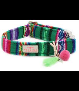 Pellina -  Hundehalsband LaaVida Grün