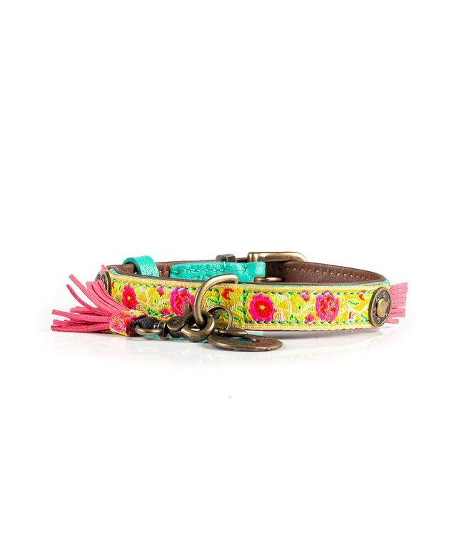 Dog with a Mission - Hippie Hundehalsband XXS