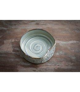 Keramik Hundenapf mÿ Bowl gemustert