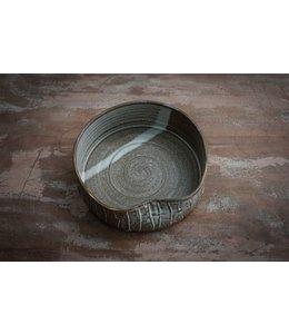 Keramik Hundenapf mÿ Bowl dunkel