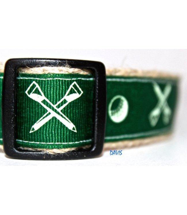 Green Bean Dog - Hundehalsband Davis aus Hanf