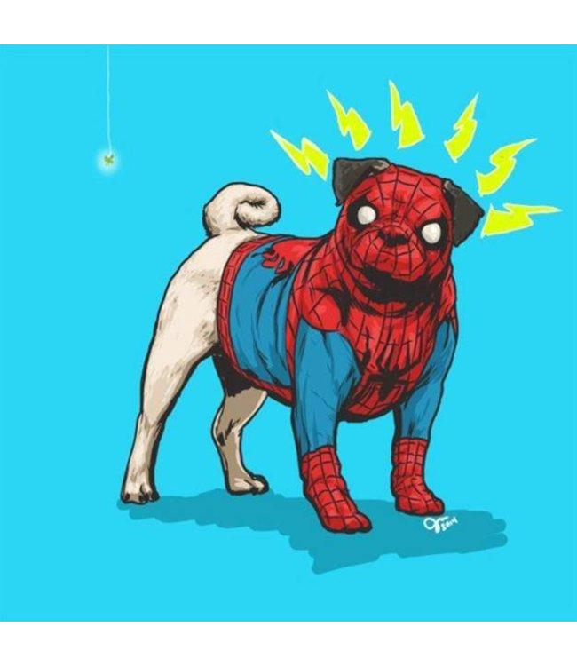 Josh Lynch - SpiderPUG - mit Rahmen