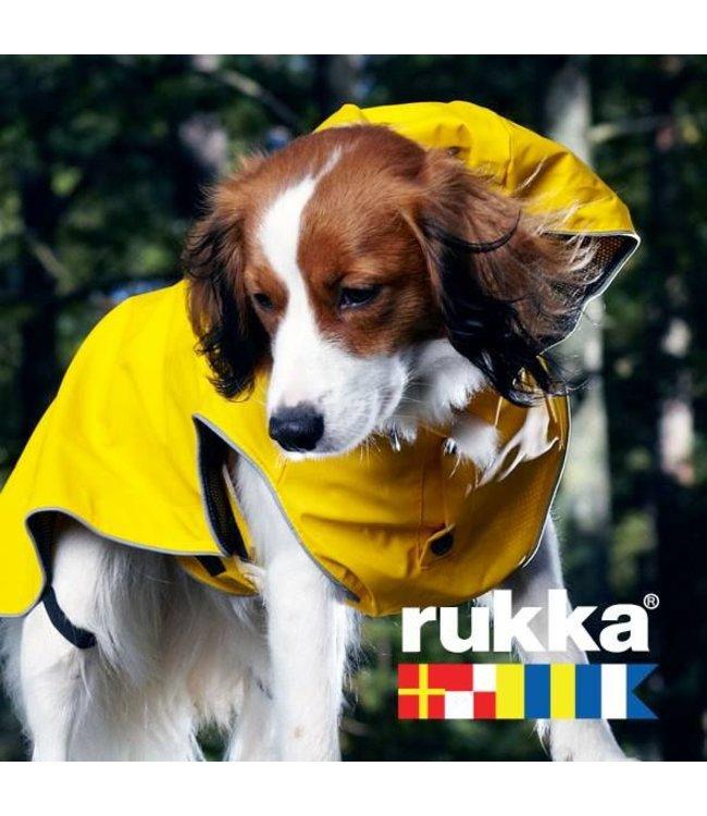 Rukka - Hunderegenmantel Stream in Farbe gelb