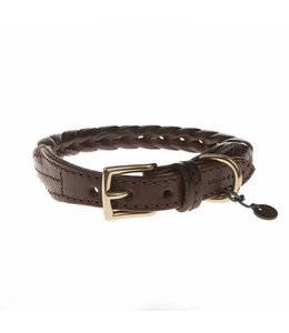 Mungo and Maud - Plaited Collar Chocolate